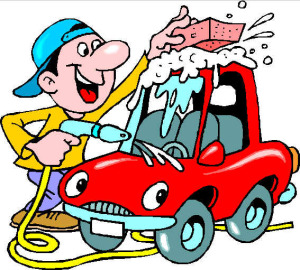 Cartoon Pictures Of Washing Cars